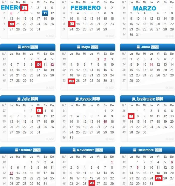 Calendario De Bolsa En Wall Street