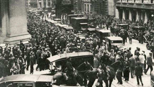 DocumentalEl Que De La Negro Inició Bursátil 1929Jueves Crack oerxBdC